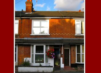Thumbnail 2 bed terraced house to rent in Elm Grove Road, Farnborough