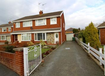 Thumbnail 3 bed semi-detached house to rent in Clarence Road, Wrexham