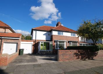 Thumbnail 3 bedroom semi-detached house for sale in Briarwood Avenue, Gosforth, Newcastle Upon Tyne