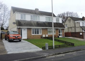 Thumbnail 3 bed semi-detached house for sale in Teglan Park, Tycroes, Ammanford