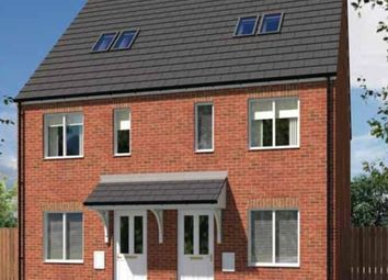 "Thumbnail 3 bed town house for sale in ""The Bickleigh"" at Stafford Road, Wolverhampton"