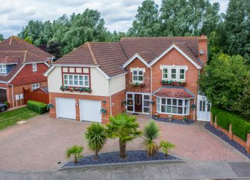 Thumbnail 6 bed detached house for sale in Belfry Lane, Collingtree Park, Northampton