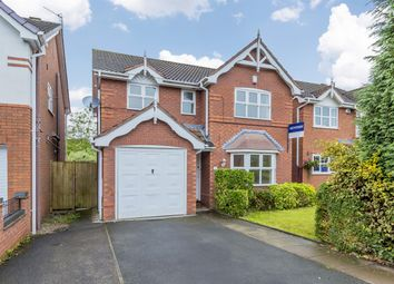 Thumbnail 4 bed detached house for sale in Amelia Close, Baddeley Green