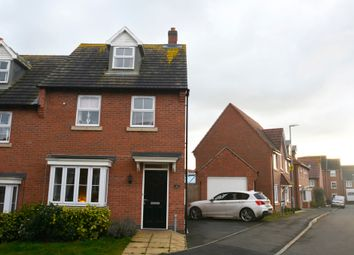 Thumbnail 3 bed semi-detached house for sale in Columbus Lane, Earl Shilton, Leicestershire