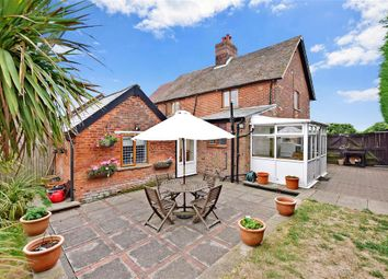 Thumbnail 2 bedroom semi-detached house for sale in Ratling Road, Adisham, Canterbury, Kent