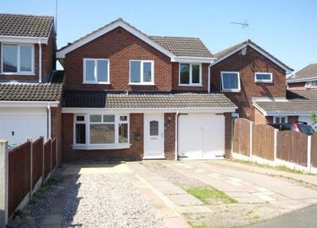 Thumbnail 4 bed detached house for sale in Langtree Close, Cannock, Staffordshire