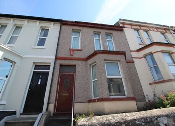 Thumbnail 3 bed terraced house to rent in Furzehill Road, Mutley, Plymouth