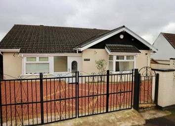Thumbnail 5 bedroom detached bungalow for sale in Aneurin Crescent, Twynyrodyn, Merthyr Tydfil