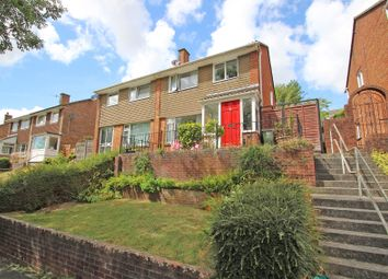 Thumbnail 3 bed semi-detached house for sale in Waddon Close, Colebrook, Plympton