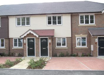 Thumbnail 2 bed terraced house to rent in The Cheviots, Hastings