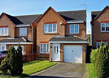 Thumbnail 3 bed detached house for sale in Keld Close, Corby