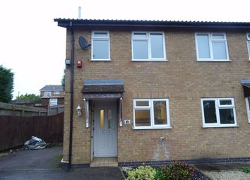 Thumbnail 2 bed semi-detached house to rent in Armadale Close, Hinckley