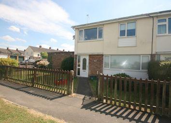 Thumbnail 3 bed end terrace house to rent in Barnard Walk, Keynsham, Bristol