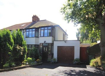 Thumbnail 4 bed semi-detached house for sale in Hillside Drive, Woolton, Liverpool