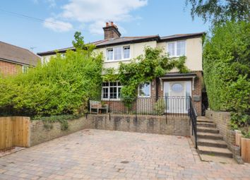 Thumbnail 4 bed semi-detached house for sale in Middle Bourne Lane, Lower Bourne, Farnham