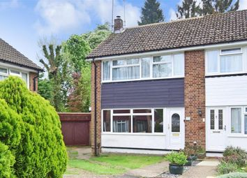 Thumbnail 4 bed end terrace house for sale in Stafford Close, Caterham, Surrey