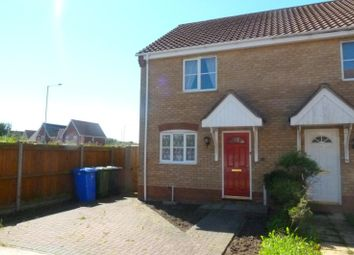 Thumbnail 2 bed end terrace house to rent in Keel Close, Carlton Colville, Lowestoft