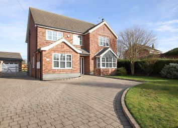 Thumbnail 6 bed detached house for sale in Front Street, Ulceby, North Lincolnshire