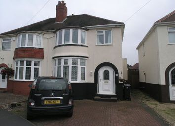 Thumbnail 3 bed semi-detached house for sale in Graham Road, Halesowen