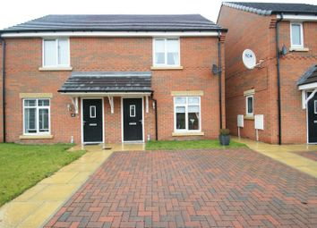 Thumbnail 2 bed semi-detached house for sale in Highfield Avenue, Langwith Junction, Mansfield