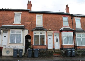 Thumbnail 3 bed terraced house to rent in Farnham Road, Handsworth, Birmingham