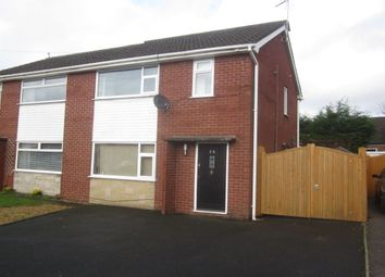 Thumbnail 3 bed semi-detached house for sale in Lear Drive, Wistaston, Crewe