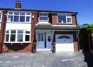 Thumbnail 5 bed semi-detached house for sale in Arnside Close, High Lane, Stockport