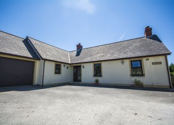 Thumbnail 5 bed detached bungalow for sale in Hermon, Glogue