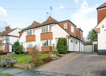 Thumbnail Semi-detached house for sale in Parklawn Avenue, Epsom, Surrey