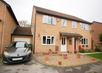 Thumbnail 3 bed semi-detached house for sale in Doverdale Drive, Longlevens, Gloucester