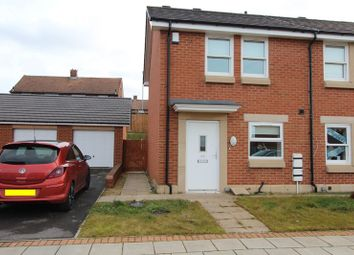 Thumbnail 2 bedroom terraced house for sale in Dartington Close, Hartley Wood, Sunderland