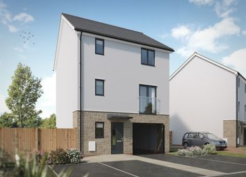 "Thumbnail 4 bed town house for sale in ""The Park Lane"" at Pomphlett Farm Industrial, Broxton Drive, Plymouth"