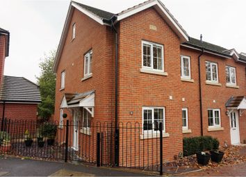 Thumbnail 4 bedroom end terrace house for sale in Hindmarch Crescent, Hedge End