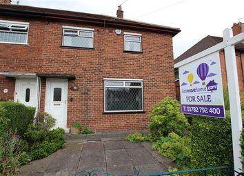 Thumbnail 3 bedroom semi-detached house for sale in Wellfield Road, Bentilee, Stoke-On-Trent