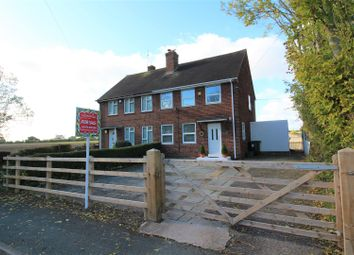 Thumbnail 3 bed semi-detached house for sale in Hugmore Lane, Llan-Y-Pwll, Wrexham