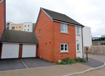 Thumbnail 3 bed detached house for sale in Coles Close, Swansea