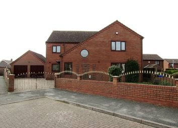 Thumbnail 4 bed detached house for sale in Jefferson Close, Hook, Goole