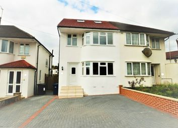 Thumbnail 3 bed semi-detached house to rent in Bittacy Rise, London