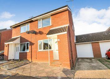 Thumbnail 2 bed semi-detached house to rent in Gunton Road, Loddon, Norwich