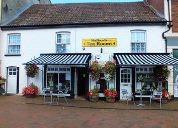 Thumbnail Restaurant/cafe for sale in Mallards Tea Rooms, 3-4 Lowman Green, Tiverton, Devon