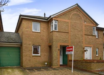 Thumbnail 3 bed semi-detached house for sale in Quantock Crescent, Emerson Valley, Milton Keynes