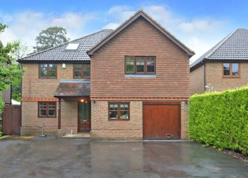 Thumbnail 6 bed detached house for sale in Clewborough Drive, Camberley