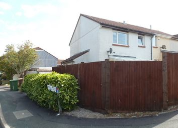 Thumbnail 1 bed terraced house to rent in Battershall Close, Plymstock, Plymouth