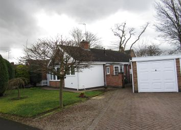 Thumbnail 2 bed detached bungalow for sale in Rumsey Drive, Whetstone, Leicester