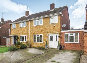 Thumbnail 3 bedroom semi-detached house for sale in Rochester Avenue, Woodley, Reading