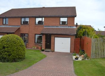 Thumbnail 3 bed semi-detached house for sale in Clove Court, Tweedmouth, Berwick-Upon-Tweed, Northumberland