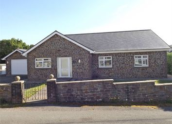 Thumbnail 4 bedroom detached bungalow for sale in Heol Maes Pica, Lower Cwmtwrch, Swansea, Powys