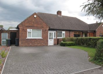 Thumbnail 3 bed semi-detached bungalow for sale in Ebrington Avenue, Solihull