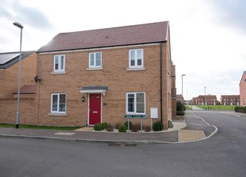 Thumbnail 3 bed detached house for sale in Tiber Court, Spalding