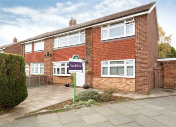 Thumbnail 4 bed semi-detached house for sale in Western Drive, Shepperton, Surrey